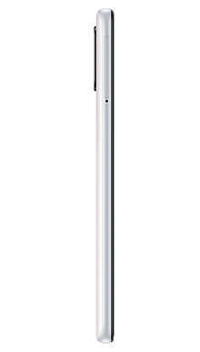 Samsung Galaxy A41 64GB White Side