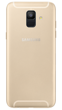 Samsung Galaxy A6 Gold Back