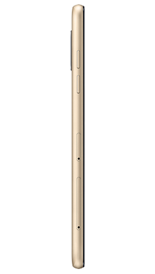 Samsung Galaxy A6 Gold Side