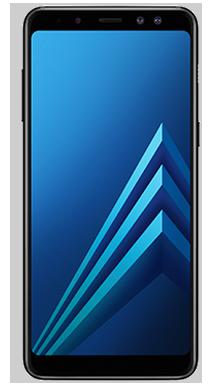 Samsung Galaxy A8 Black Front