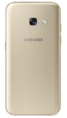 Samsung Galaxy A3 2017 Gold Back