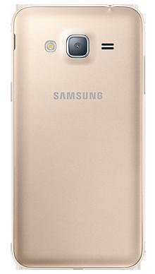 Samsung Galaxy J3 Gold Back