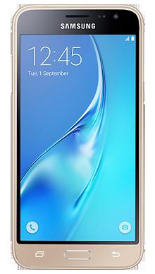 Samsung Galaxy J3 Gold Front
