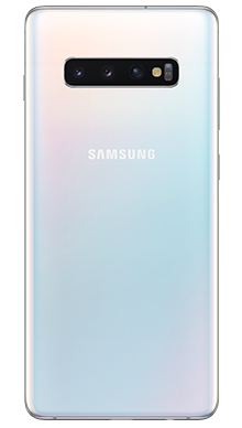 Samsung Galaxy S10 Plus 128GB Prism White Back