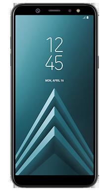 Samsung Galaxy A6 Black Front