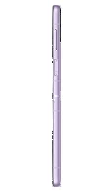 Samsung Galaxy Z Flip 3 5G 128GB Lavender Side