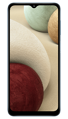 Samsung Galaxy A12 64GB Blue Front