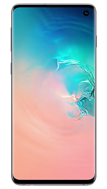 Samsung Galaxy S10 128GB Prism White Front