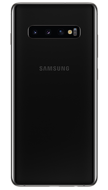 Samsung Galaxy S10 Plus 128GB Prism Black Back