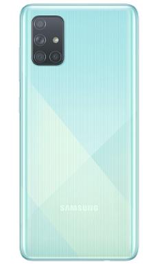 Samsung Galaxy A71 128GB Blue Back