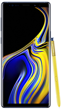 Samsung Galaxy Note 9 128GB Blue Front