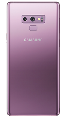 Samsung Galaxy Note 9 128GB Lavender Back