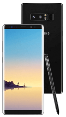 Samsung Galaxy Note 8 Black Nearly New