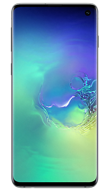 Samsung Galaxy S10 128GB Prism Green Front