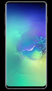 Samsung Galaxy S10 128GB Prism Green Front