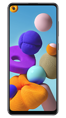 Samsung Galaxy A21s 32GB Black Front