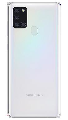 Samsung Galaxy A21s 32GB White Back