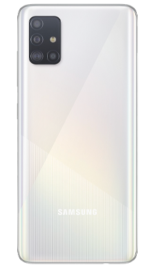 Samsung Galaxy A51 128GB White Back