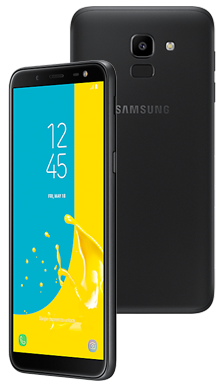 Samsung Galaxy J6 Plus Black