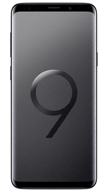 Samsung Galaxy S9 Plus 64GB Black Front