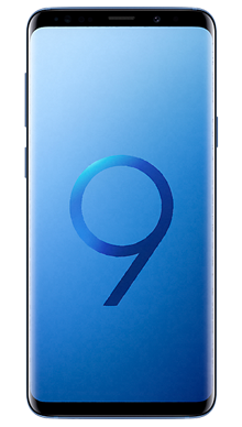 Samsung Galaxy S9 64GB Blue Front
