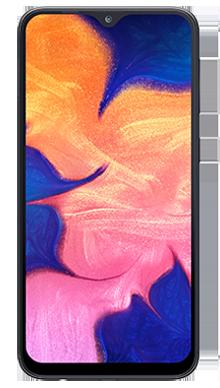 Samsung Galaxy A10 Black Front