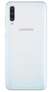 Samsung Galaxy A50 White Back