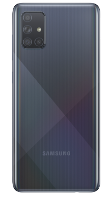 Samsung Galaxy A71 128GB Black Back