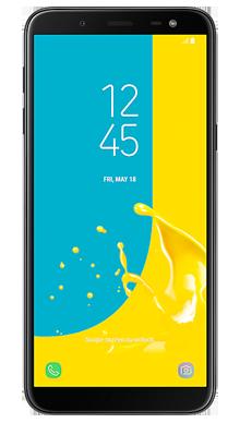 Samsung Galaxy J6 Black Front