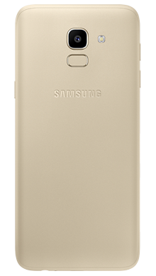 Samsung Galaxy J6 Gold Back