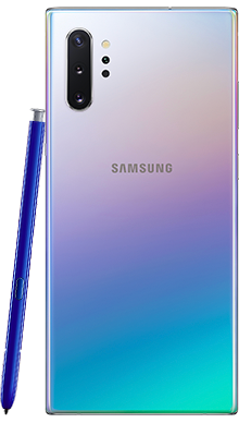 Samsung Galaxy Note 10 Plus 256GB 5G Aura Glow Back