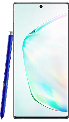 Samsung Galaxy Note 10 Plus 256GB 5G Aura Glow Front