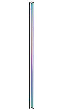 Samsung Galaxy Note 10 Plus 512GB 5G Aura Glow Side
