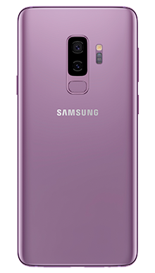 Samsung Galaxy S9 Plus 64GB Purple Back