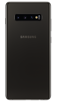 Samsung Galaxy S10 Plus 128GB Ceramic Black Back