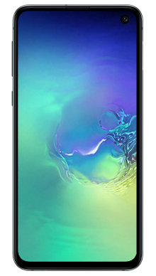Samsung Galaxy S10e 128GB Prism Green Front