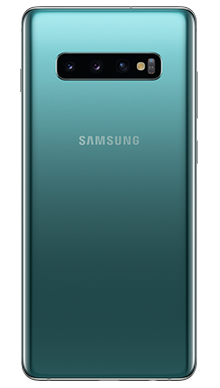 Samsung Galaxy S10 Plus 128GB Prism Green Back