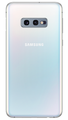 Samsung Galaxy S10e 128GB Prism White Back
