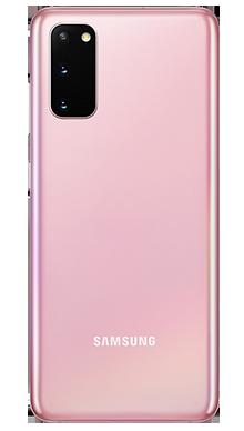 Samsung Galaxy S20 5G 128GB Pink Back