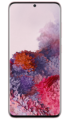 Samsung Galaxy S20 5G 128GB Pink Front