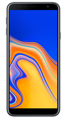 Samsung Galaxy J4 Plus Black Front