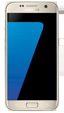Samsung Galaxy S7 Edge 32GB Gold Front