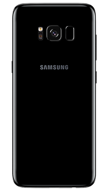 Samsung Galaxy S8 Plus 64GB Midnight Black Back