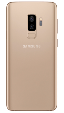 Samsung Galaxy S9 Plus 64GB Sunrise Gold Back
