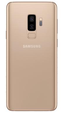 Samsung Galaxy S9 Plus 256GB Sunrise Gold Back