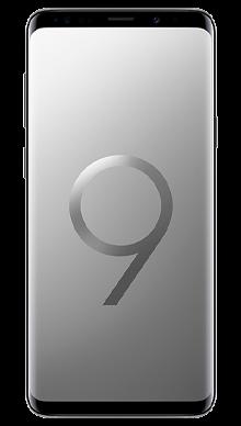 Samsung Galaxy S9 Plus 64GB Titanium Grey Front