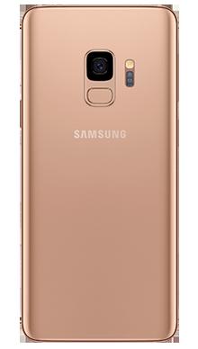 Samsung Galaxy S9 64GB Sunrise Gold Back