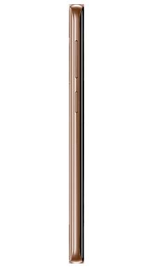 Samsung Galaxy S9 Plus 256GB Sunrise Gold Side