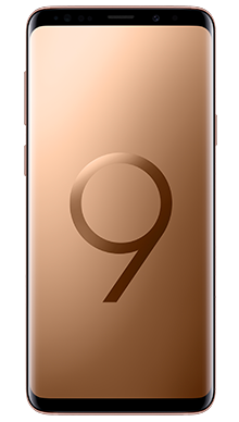 Samsung Galaxy S9 Plus 128GB Sunrise Gold Front