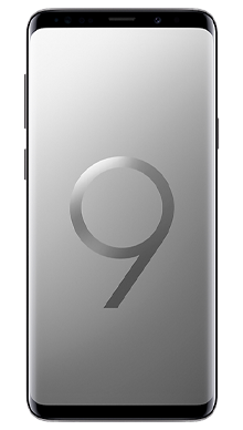 Samsung Galaxy S9 64GB Titanium Grey Front